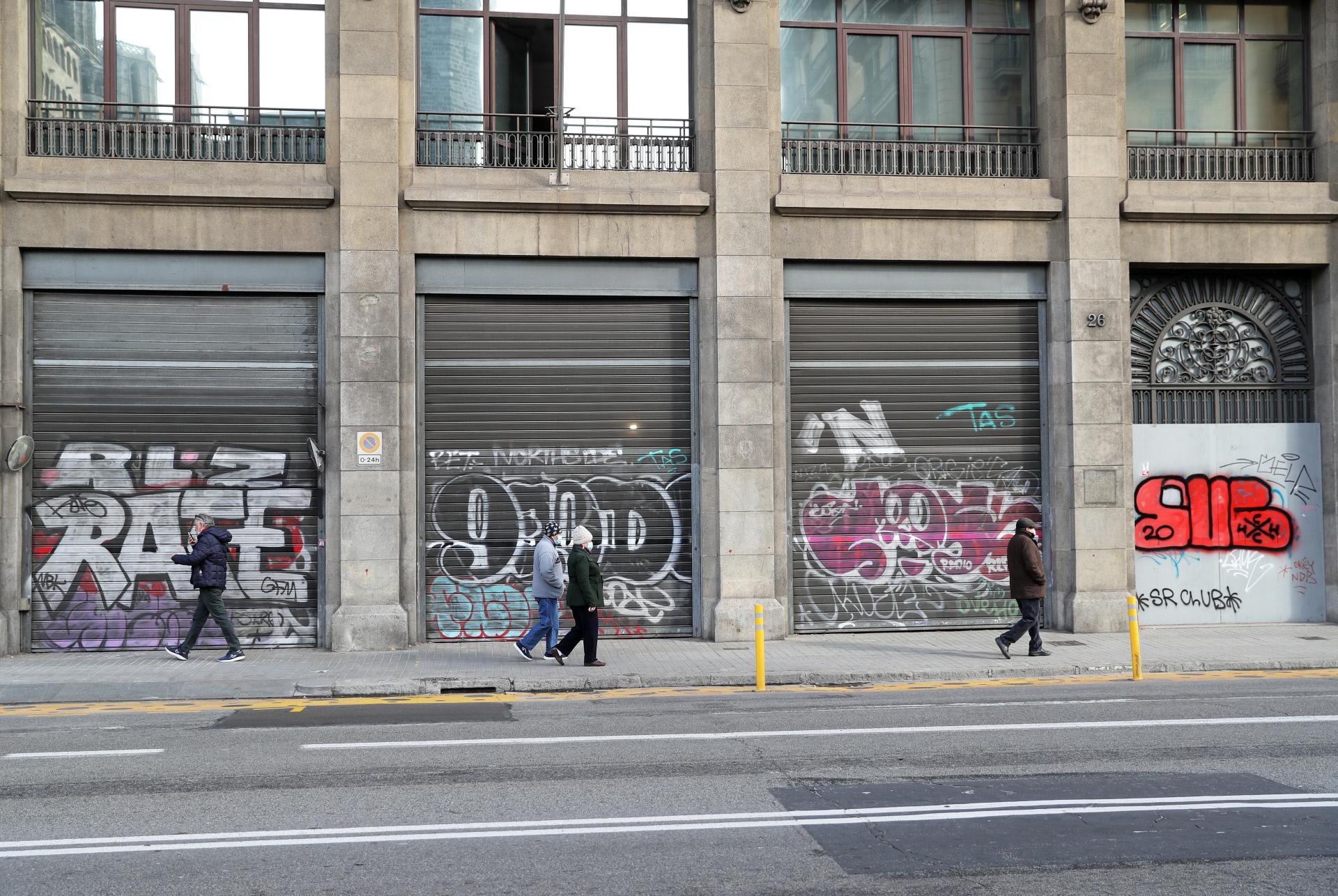 Locales cerrados en Barcelona / Gtres