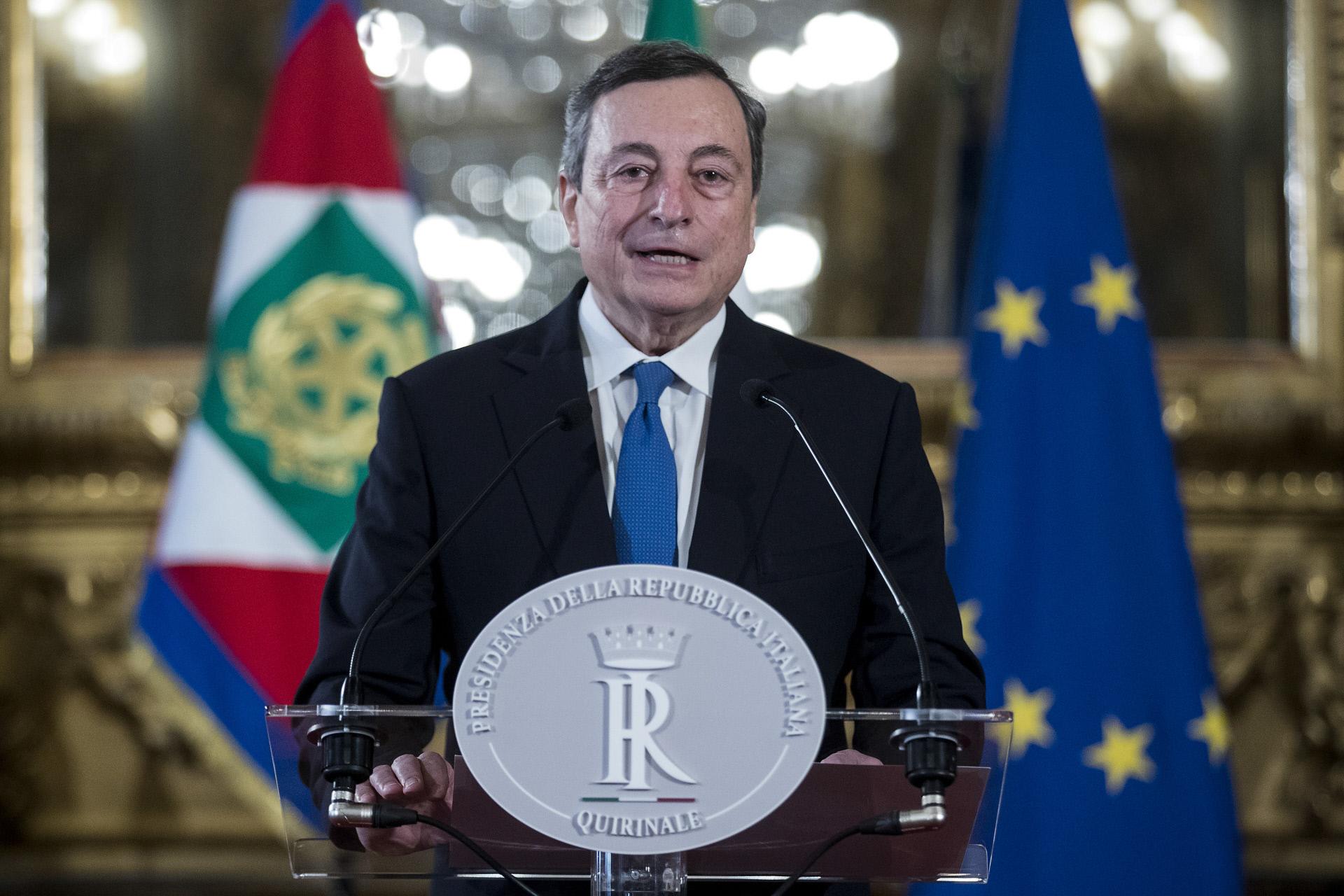 Mario Draghi, primer ministro de Italia y expresidente del BCE / Gtres
