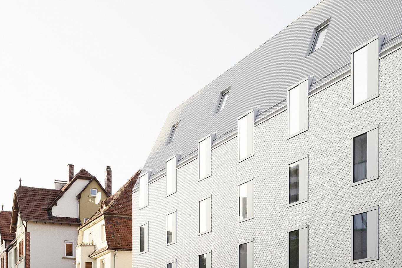 Un diseño integrado, pero diferente al resto de edificios