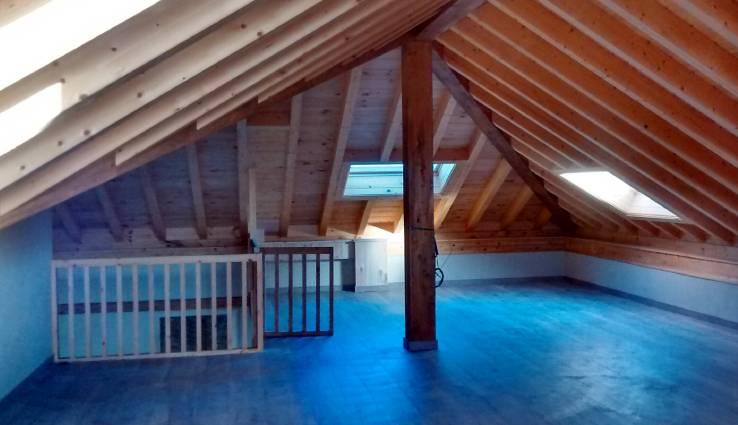 Interior de una de las casas / Ecopaja