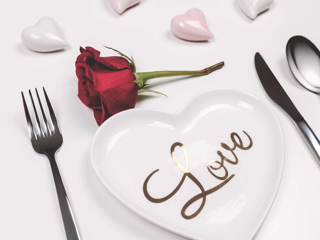 El rojo es el color relacionado con el amor y con San Valentín