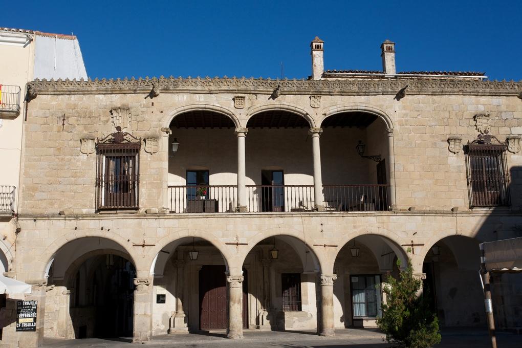 Palacio de Piedras Albas en Trujillo (s. XVI)