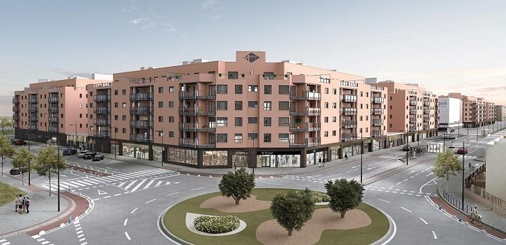 Edificio residencial de Catella