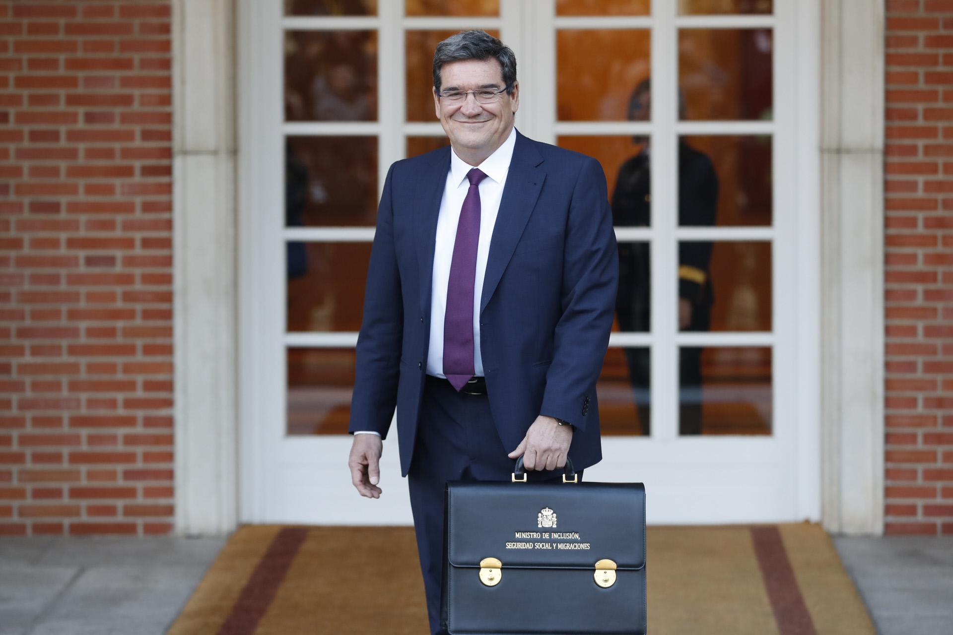 José Luis Escriva, ministro de Seguridad Social / Gtres