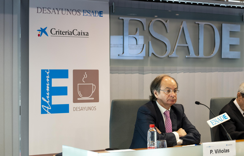 Pere Viñolas, consejero delegado de Inmobiliaria Colonial / Foto: ESADE