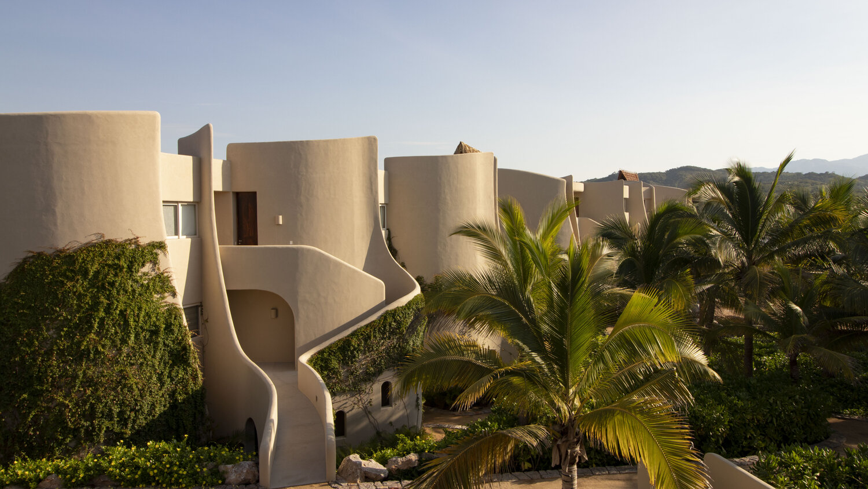Inspirado en los diseños del famoso arquitecto Lloyd Wright