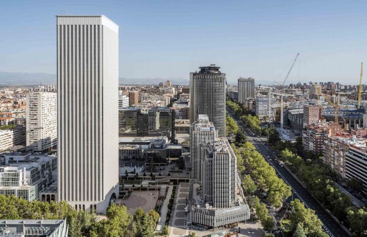 Zona de Azca, en Madrid