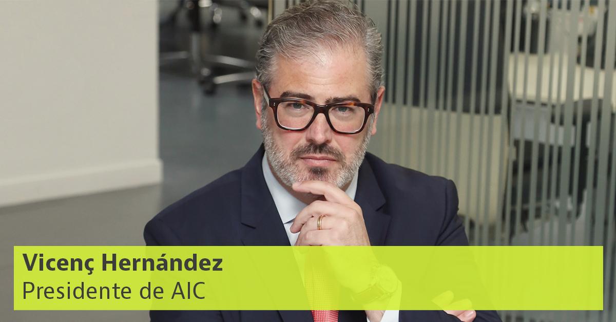 Vicenç Hernández, presidente de AIC