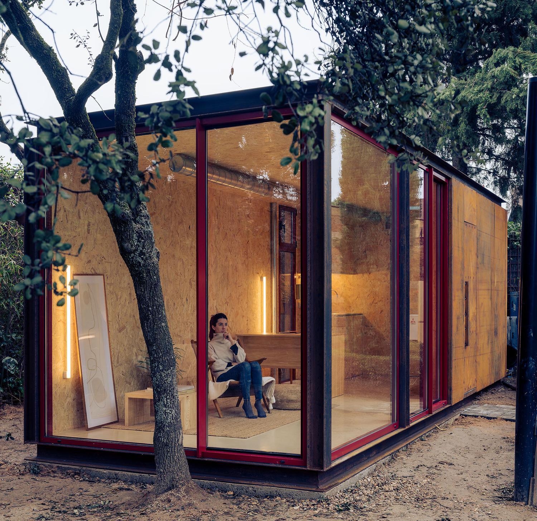 Está diseñada por un estudio de Madrid y fabricada en España
