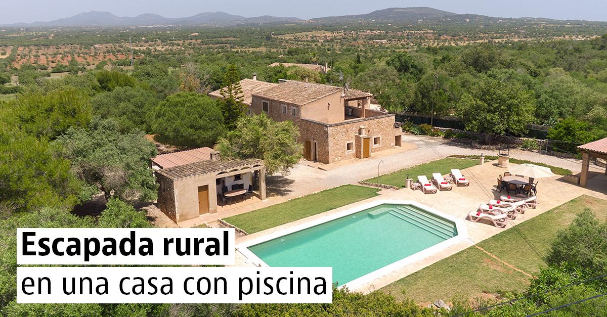 20 casas rurales con piscina para una escapada en primavera
