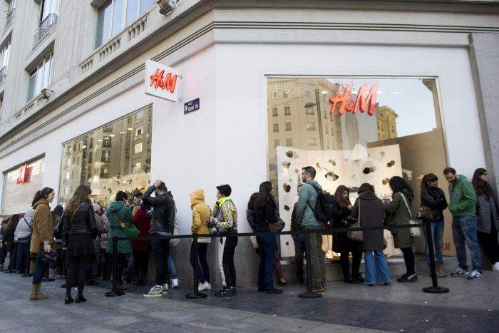 Tienda H&M en Madrid / Gtres