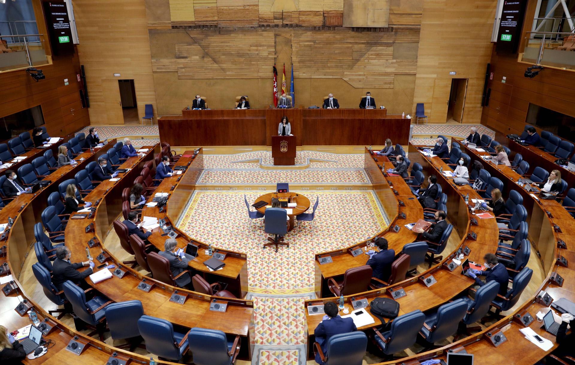 Asamblea de Madrid / Gtres