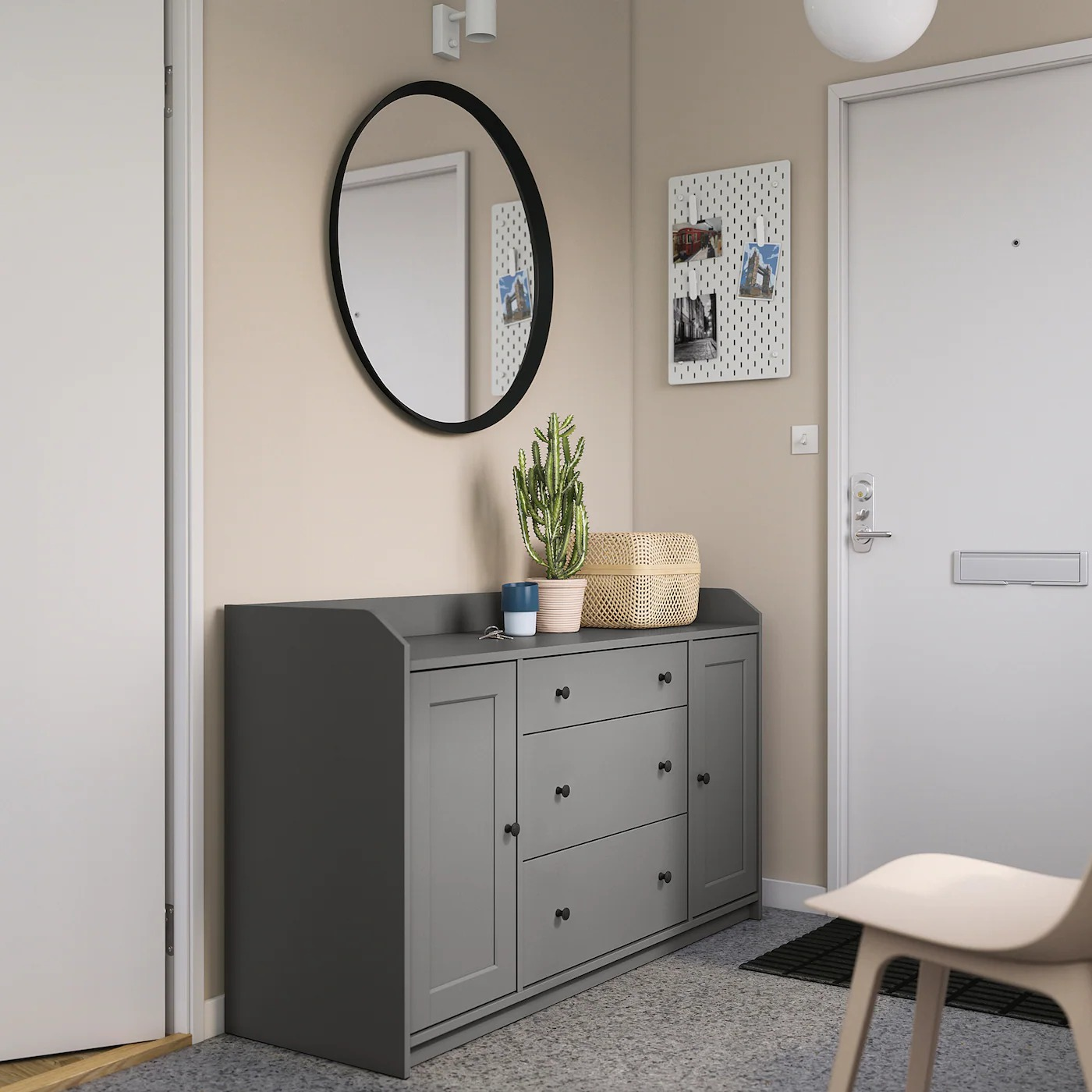 Modelo Hauga en el dormitorio / Cortesía de Ikea