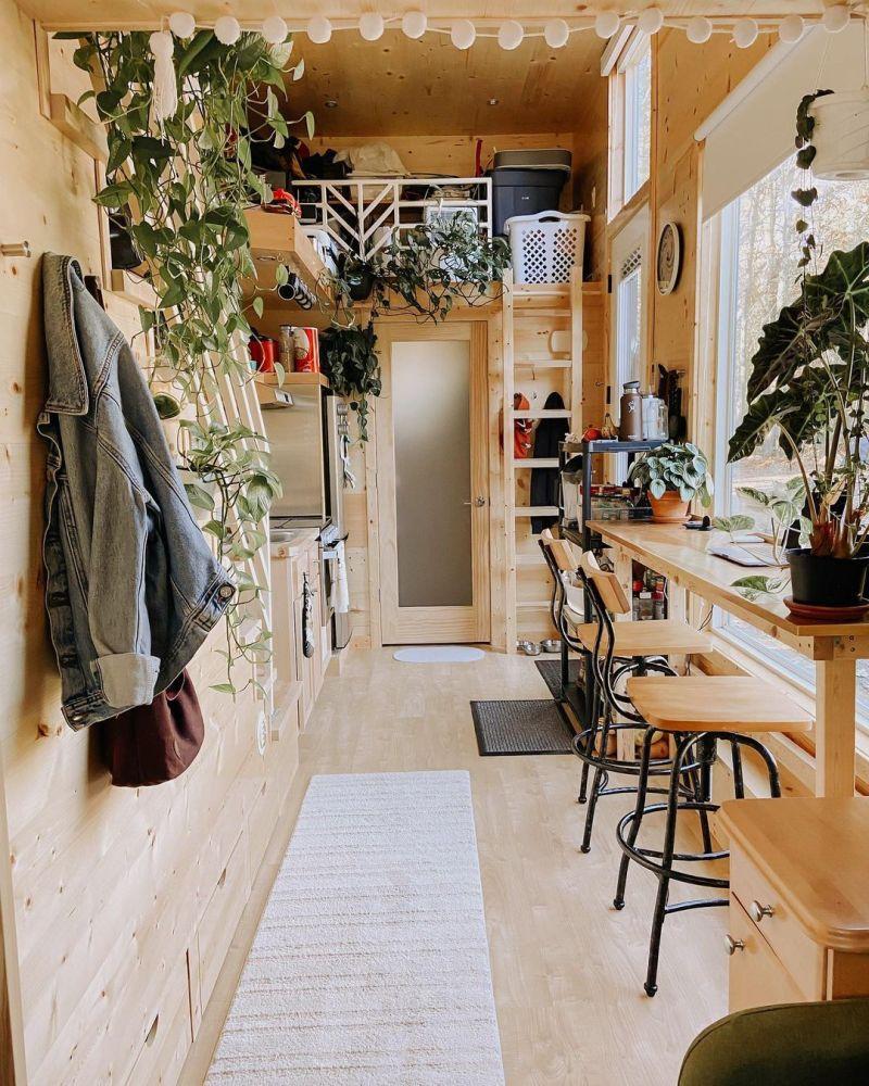 La casa tiene apenas 30 m2