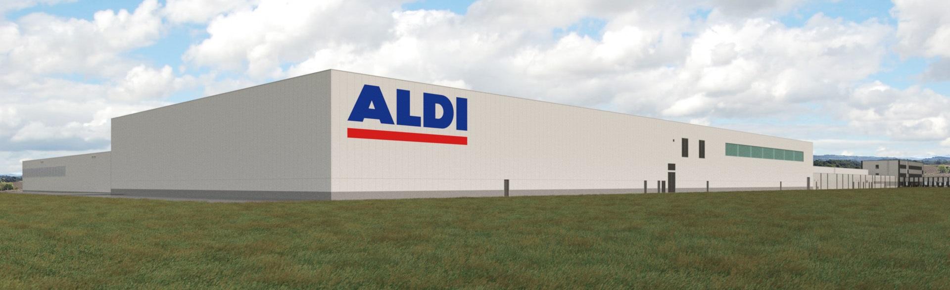 Proyecto de ampliación de ALDI en su plataforma logística de Masquefa (Barcelona)