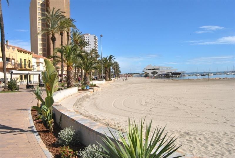 Archivo - Playa de Murcia.