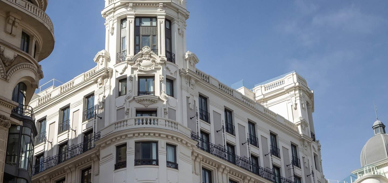 Pestana CR7 Gran Vía Madrid.