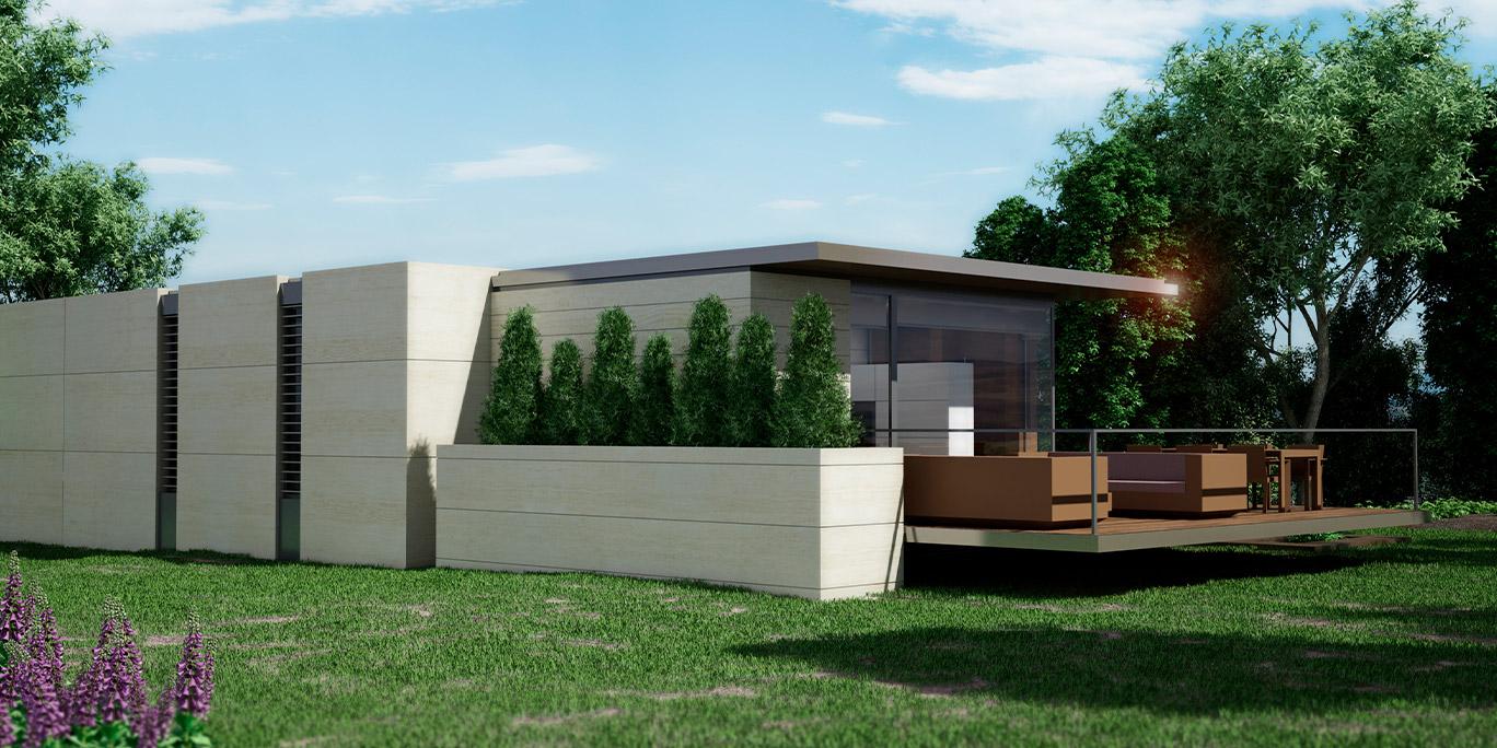 Imagen exterior de uno de los modelos / Nevo