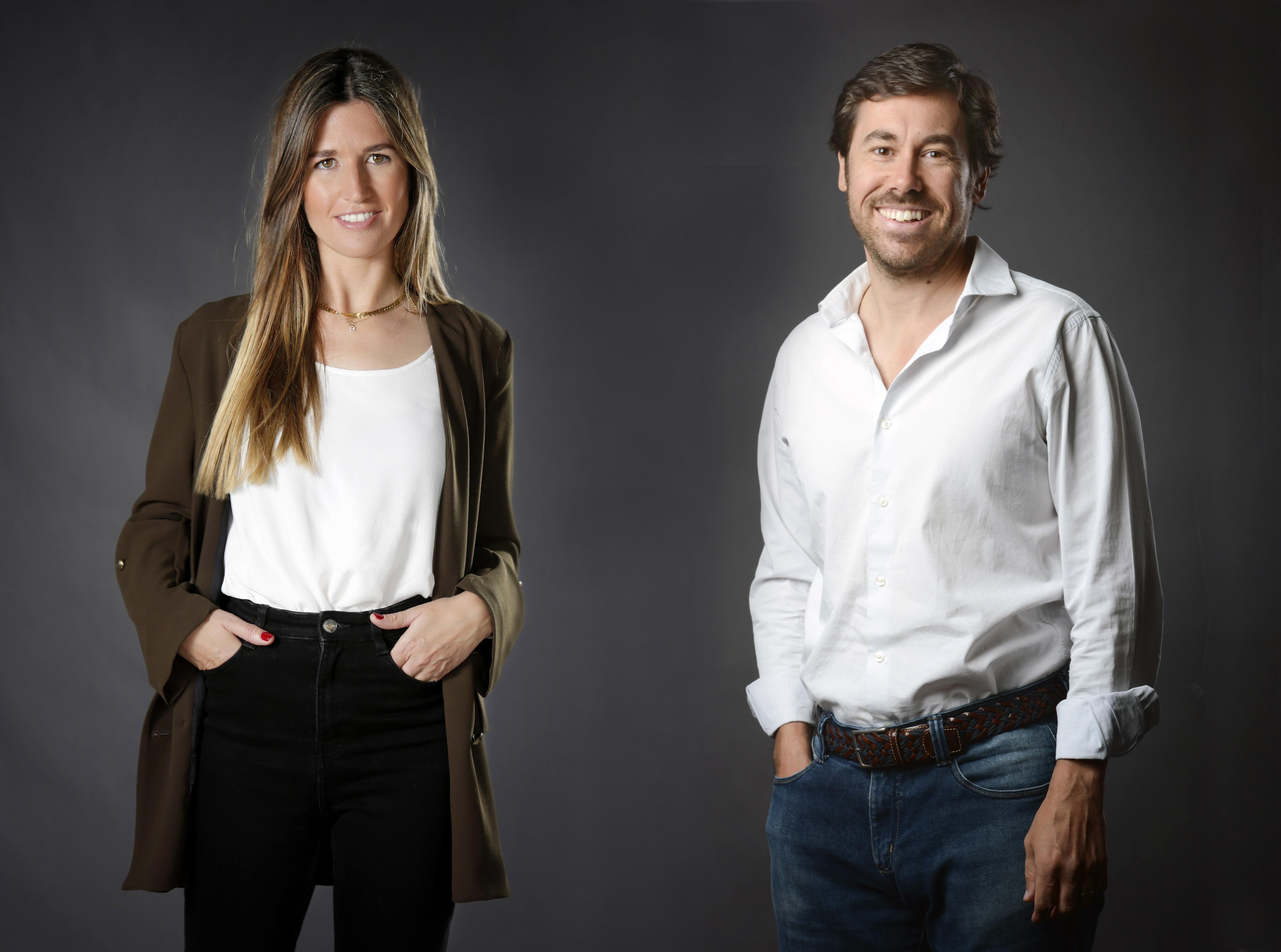 Claudia Pierre y Carlos Ripollés, cofundadores de Meeing Lawyers