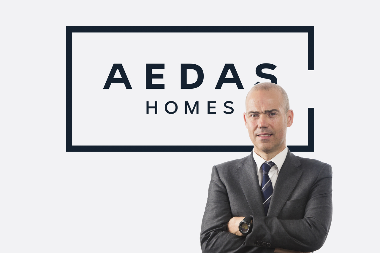 David Gómez, director territorial de Aedas Homes en Cataluña y Aragón