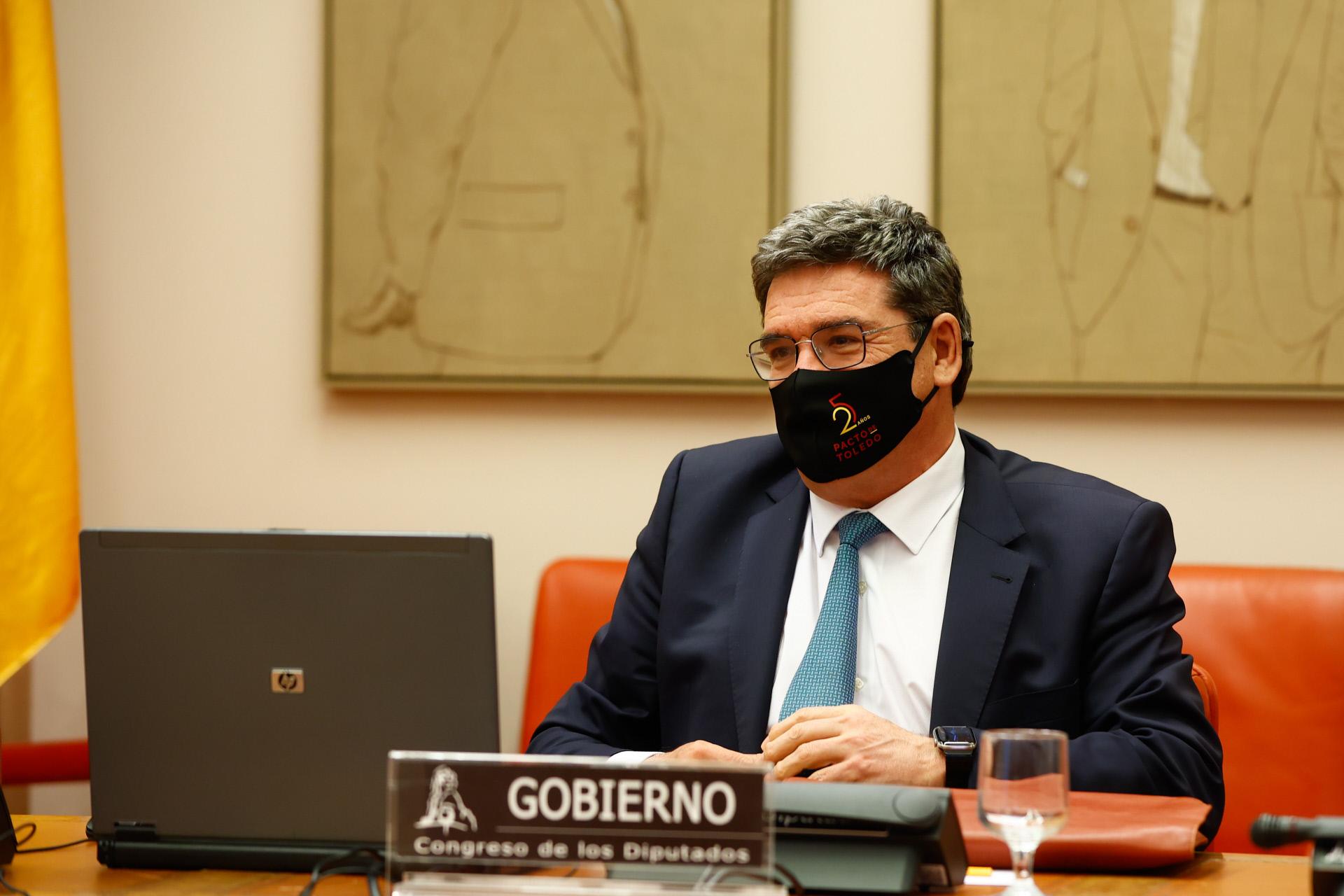 José Luis Escrivá, ministro del Ministerio de Seguriad Social / Gtres