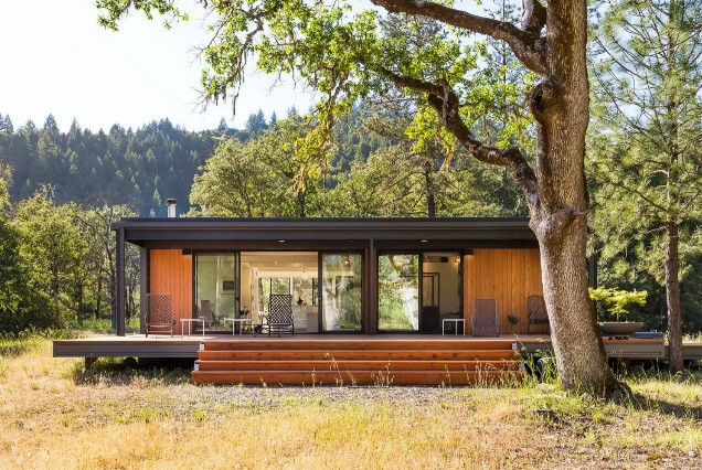 Casas prefabricadas inspiradas en Apple