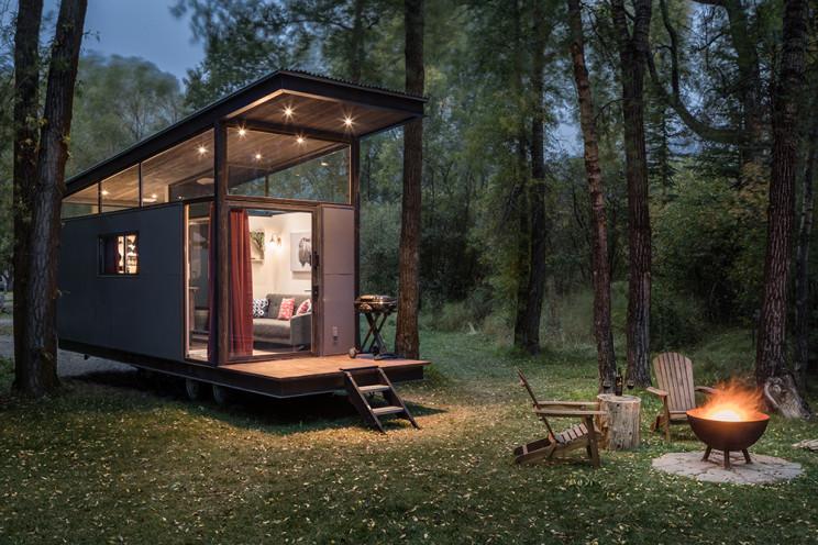 Minicasa prefabricada con apenas 23 m2