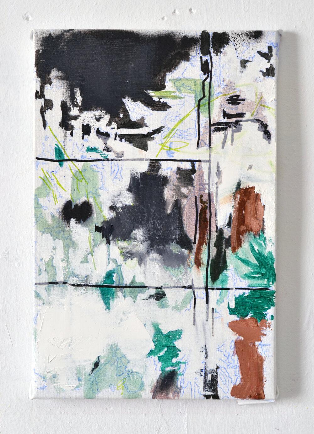 Cuadro de Pablo Merchante por 650 euros +IVA (41 x 27 cm)
