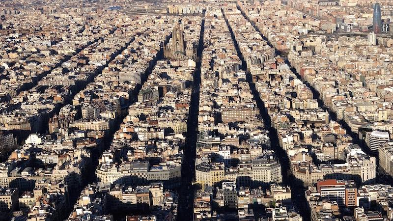 Distrito de Eixample / Ayuntamiento de Barcelona