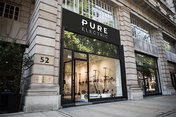 Tienda de Pure Electric en Londres