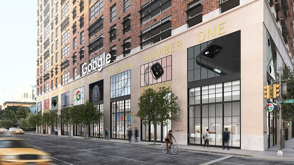 Futura tienda de Google en Nueva York