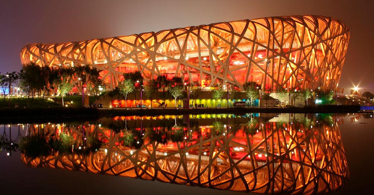 Estadio Nacional de Pekín, China
