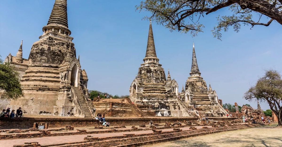 Complejo de templos de Ayutthaya, Tailandia