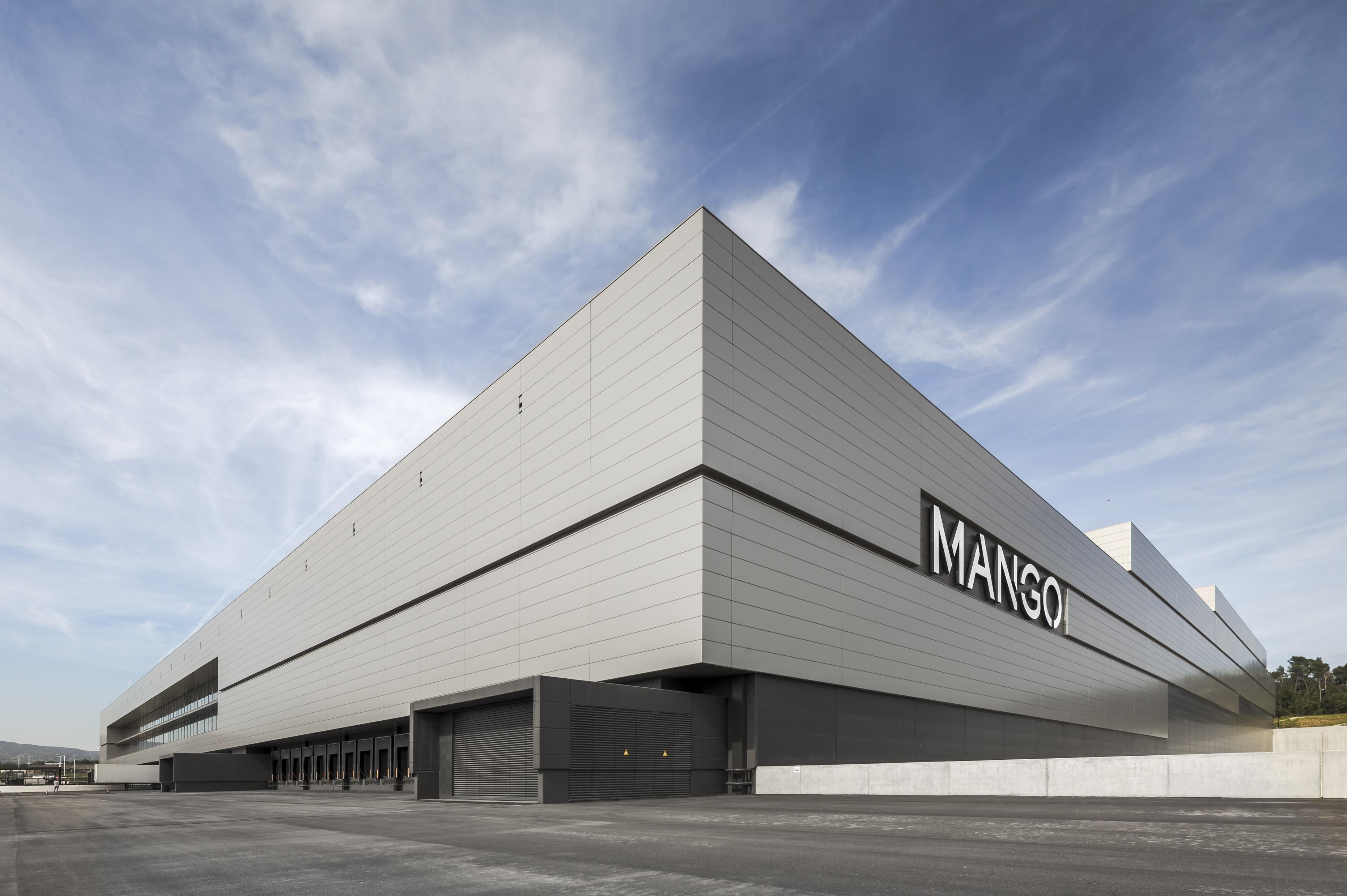 Mango inicia la ampliación de su centro logístico en Lliça d'Amunt (Barcelona) por 35 millones