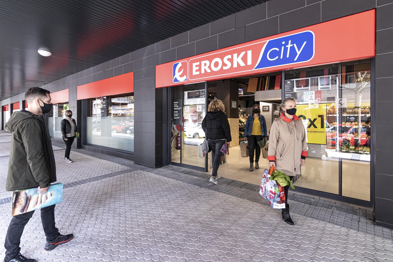 Nueva tienda Eroski en San Sebastián.
