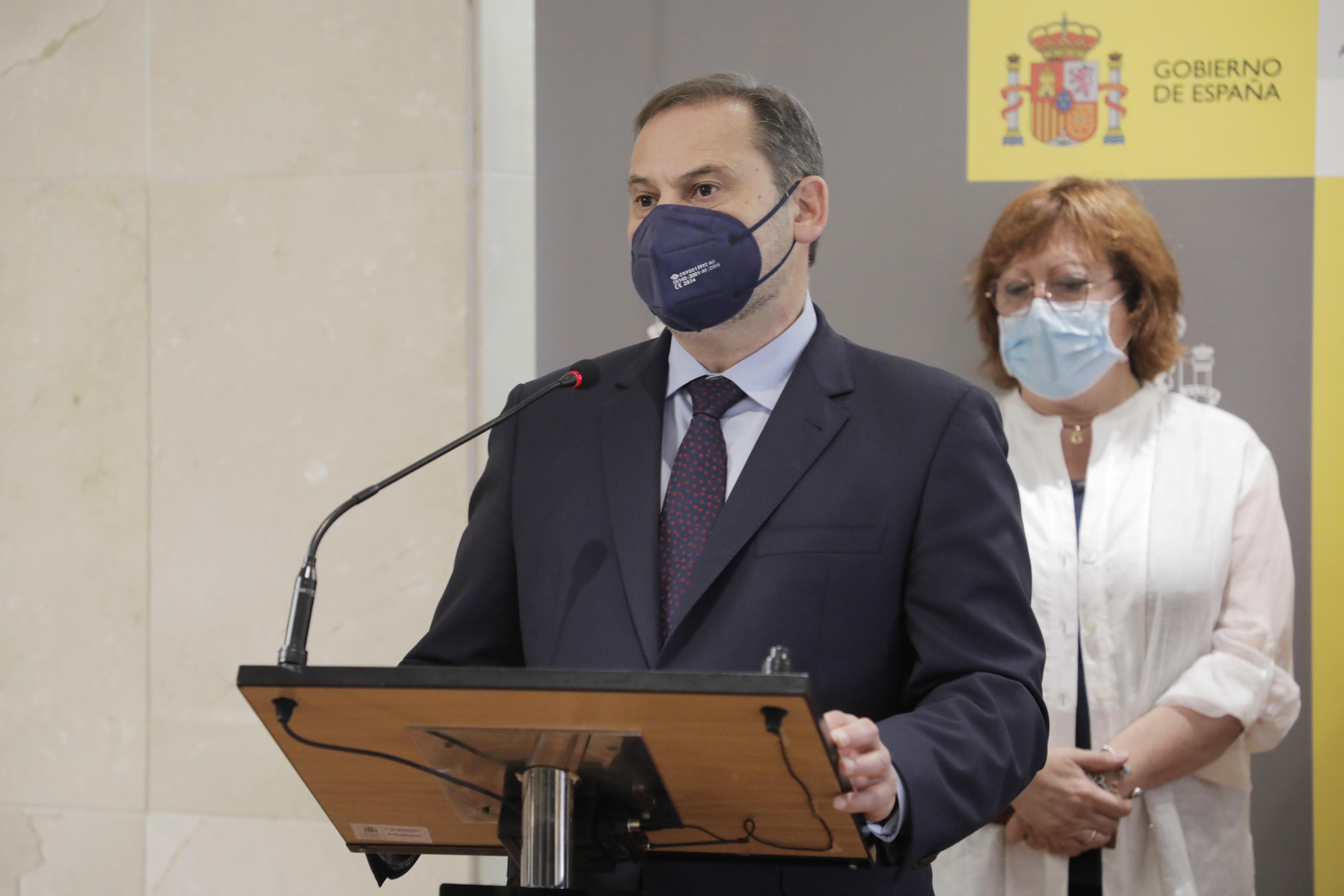El ministro de Transportes, Movilidad y Agenda Urbana, José Luis Ábalos / Europa Press