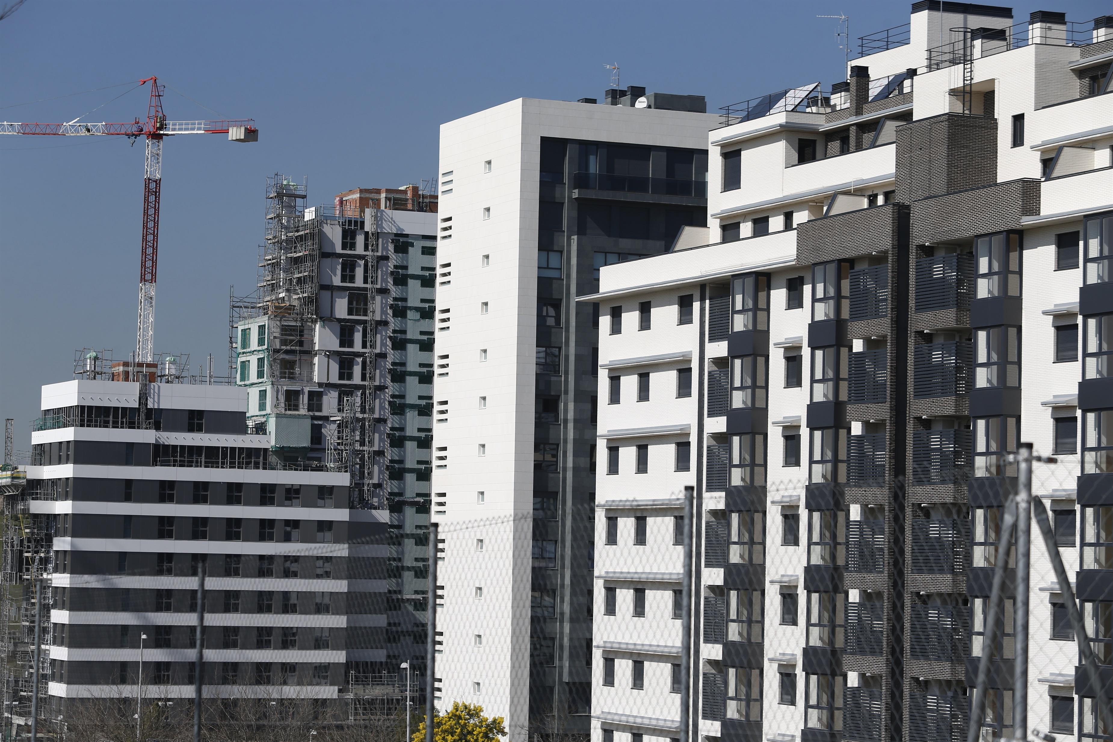 Viviendas en construcción en Madrid / EUROPA PRESS