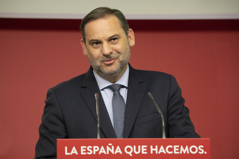 El ministro de Transportes, Movilidad y Agenda Urbana y secretario de organización del PSOE, José Luis Ábalos / PSOE
