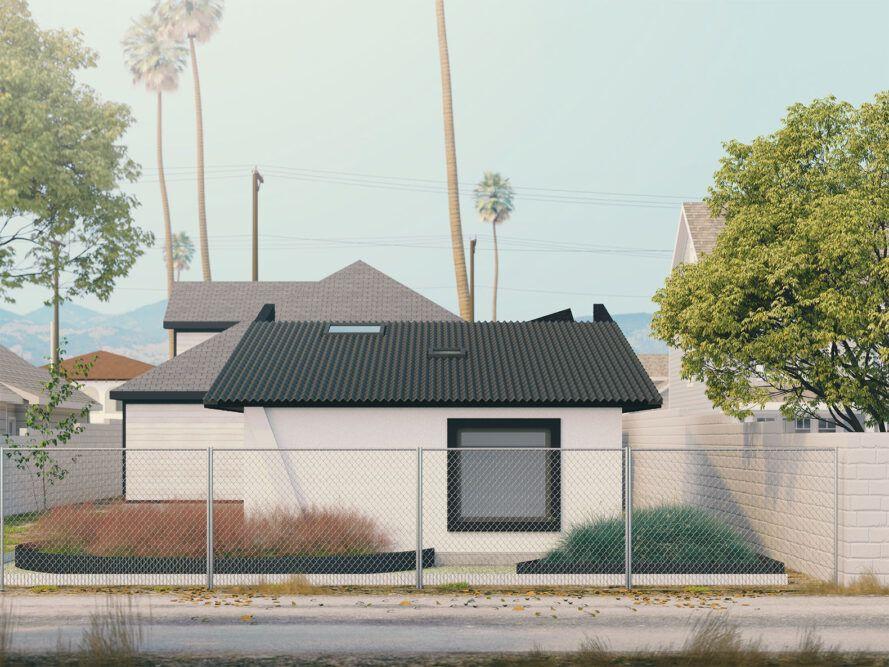 Las casas tienen unos 60 m2, incluyendo la terraza