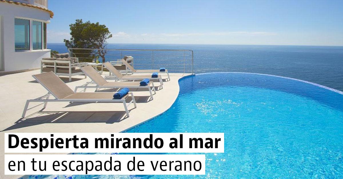 20 casas con piscina y vistas al mar para tus vacaciones de verano