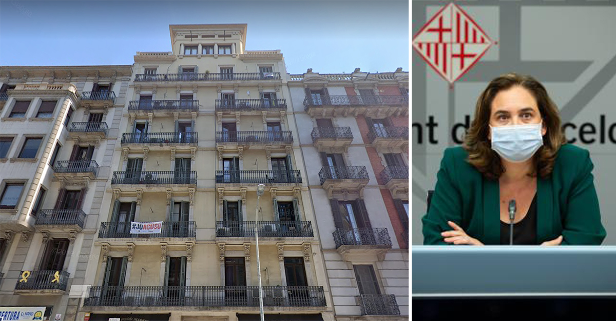 Edificio en calle Balmes 19, en Barcelona