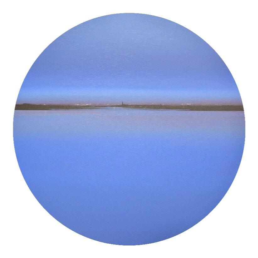 Cuadro de Diego Benéitez por 1.446 euros (80 cm de diámetro)
