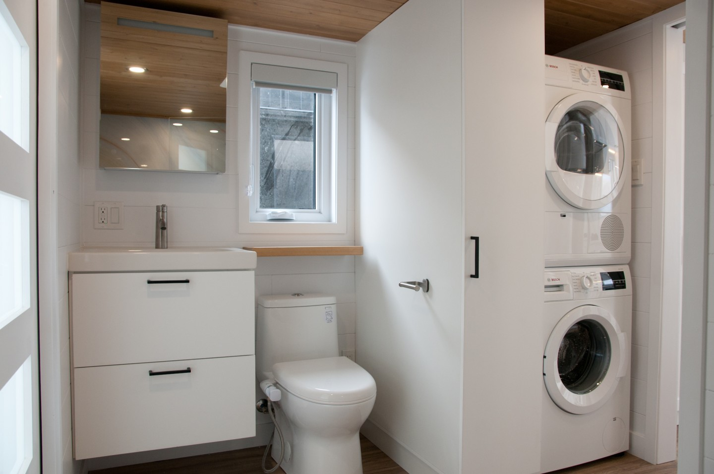 Incluye la zona para lavar la ropa