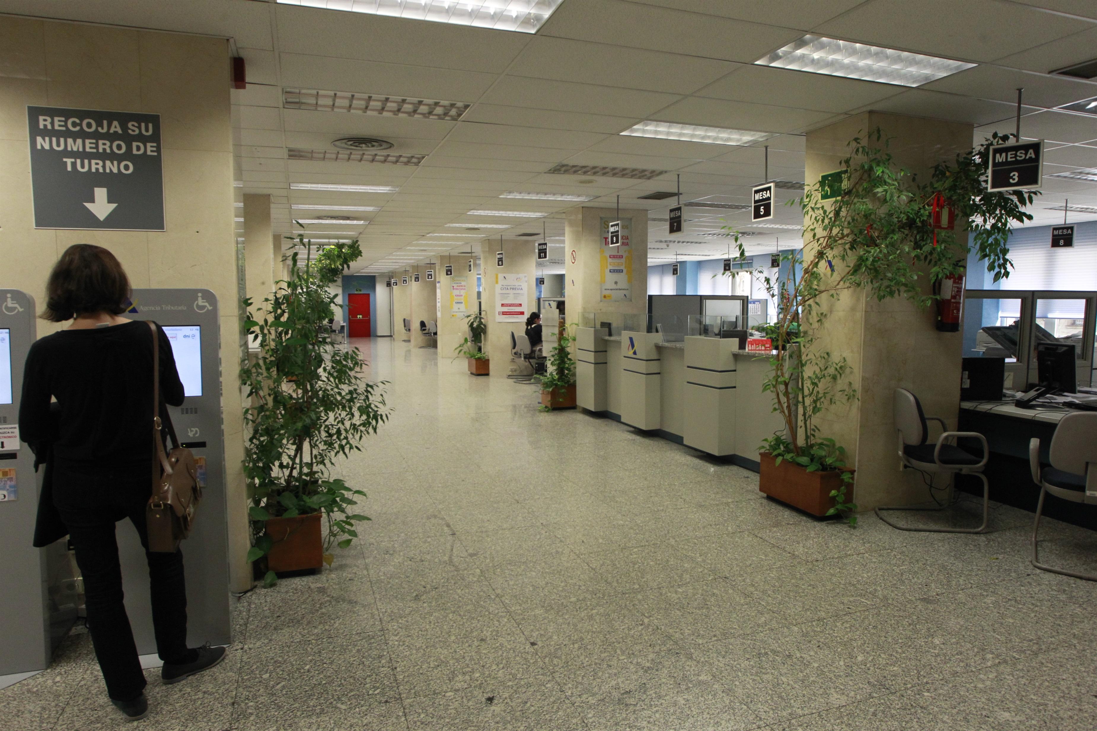 Oficina de la Agencia Tributaria / EUROPA PRESS