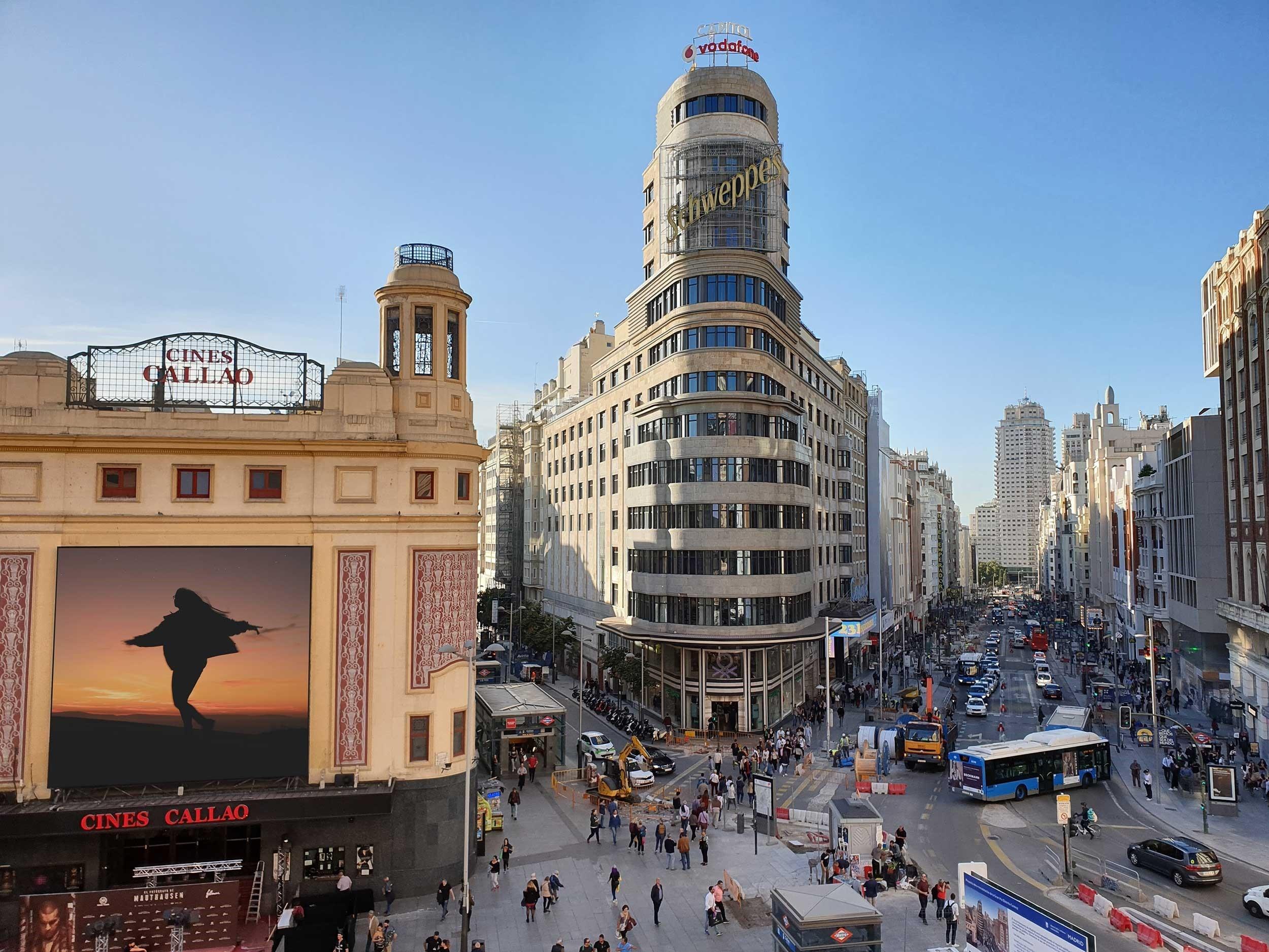 Zona de oficinas en Madrid