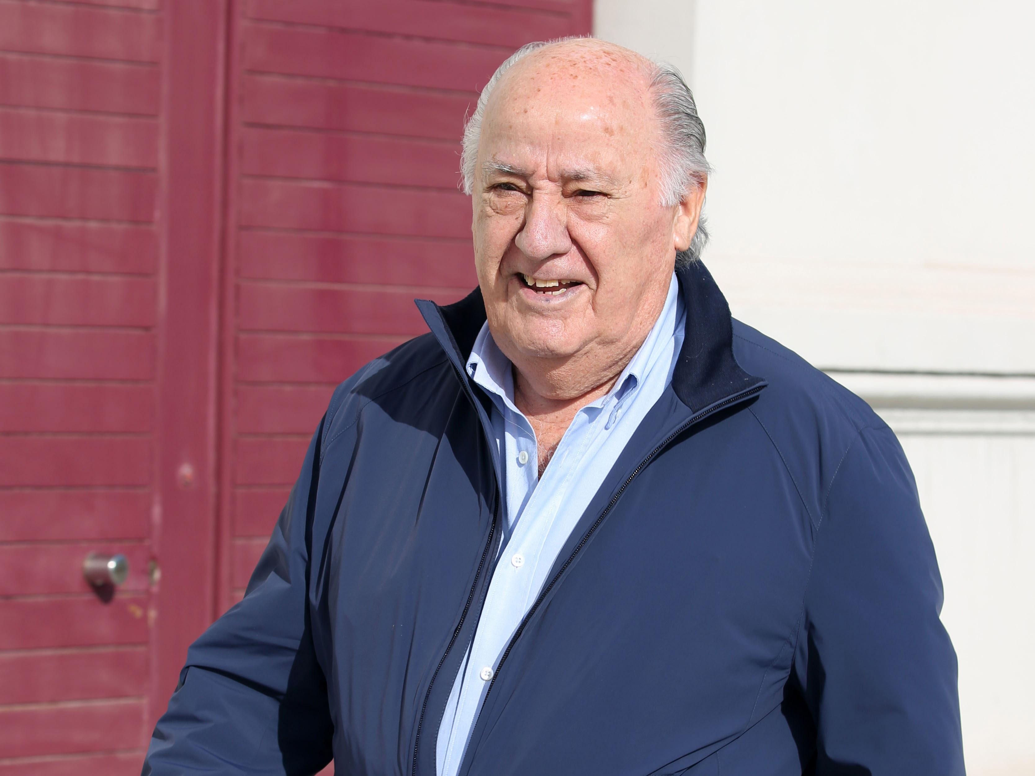 Amancio Ortega, en una imagen de archivo, en su Coruña natal, donde reside