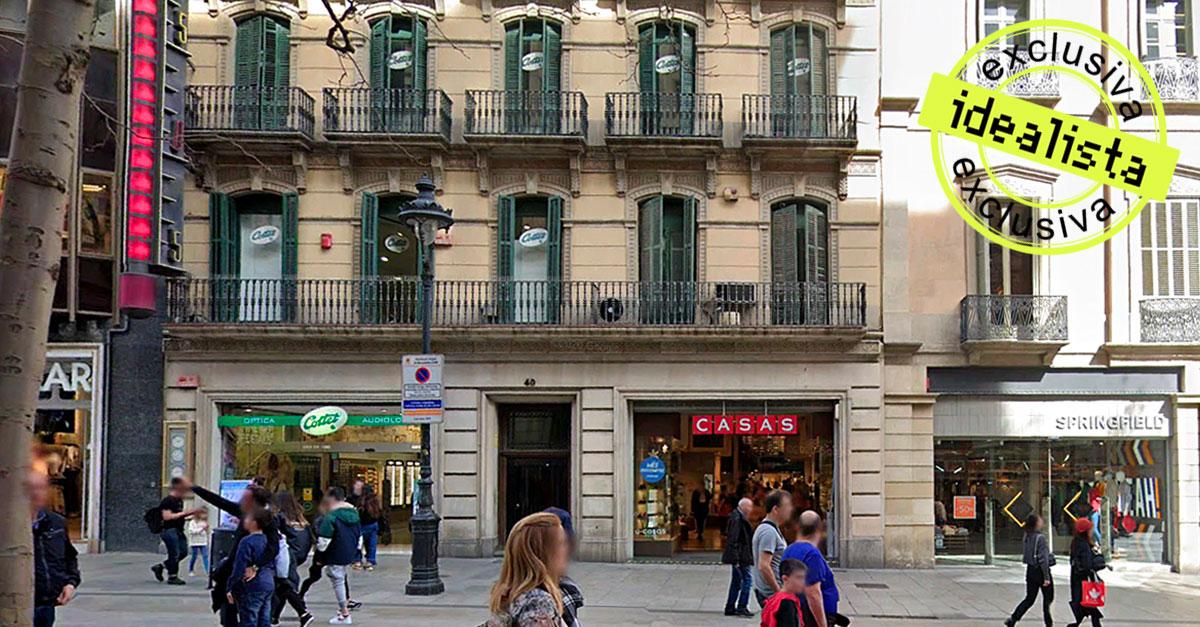 Macrooperación en Barcelona: Medcap alquila a Primor su edificio de Portal de l'Angel