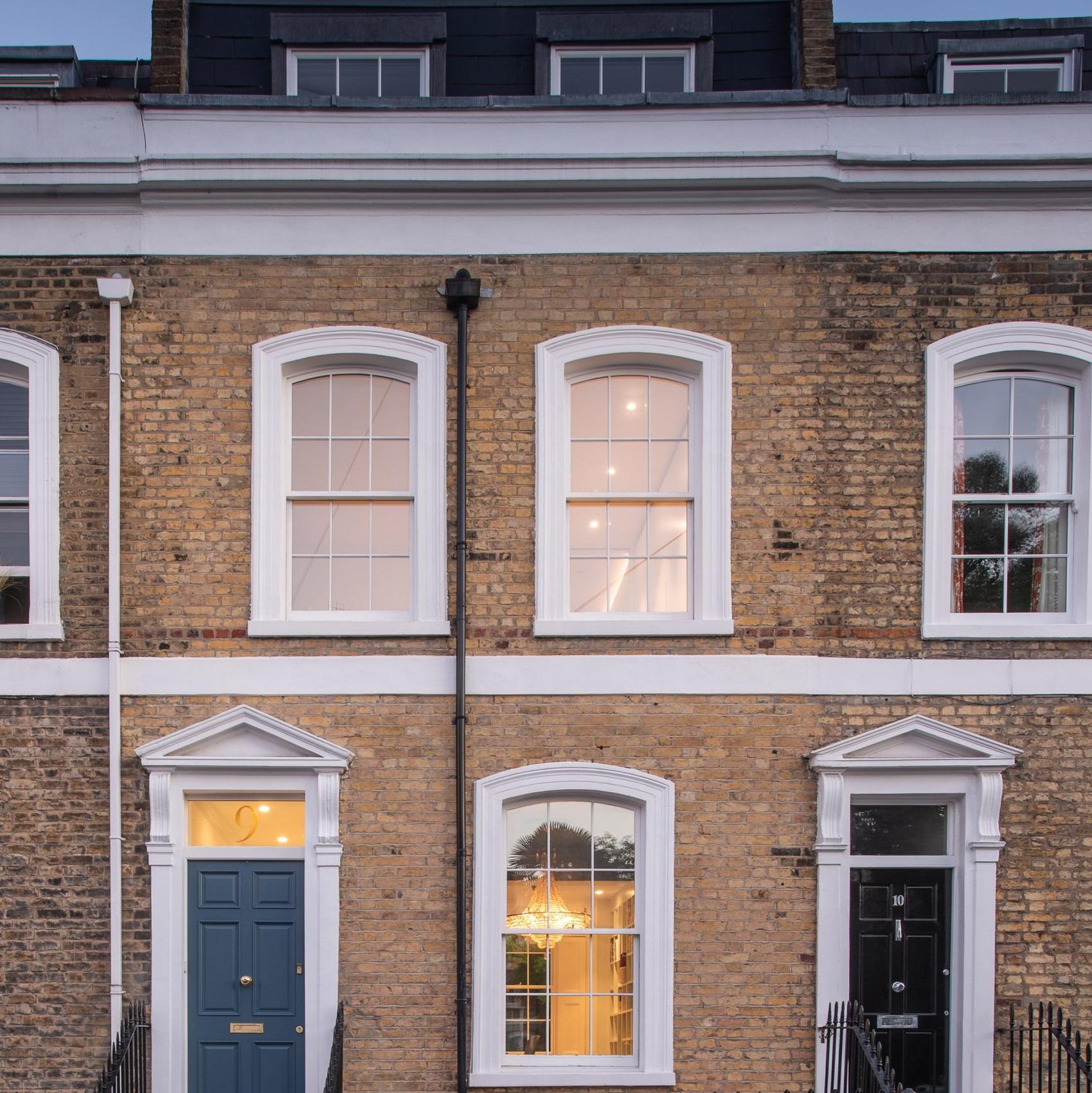 Es una casa clásica, de estilo victoriano