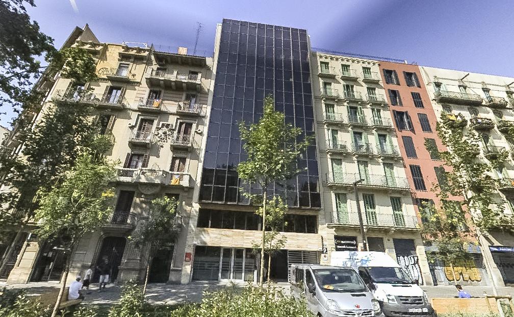 Edificio de Paseo San Juan, en Barcelona
