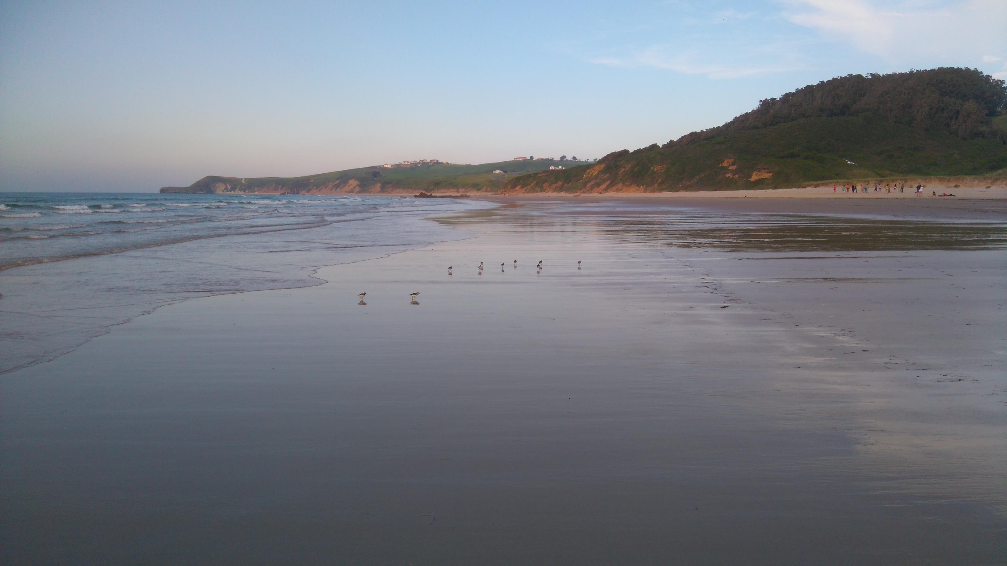 Playa San Vicente de la Barquera, Cantabria